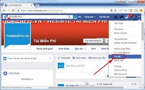 tao so lien lac tin cay tren facebook