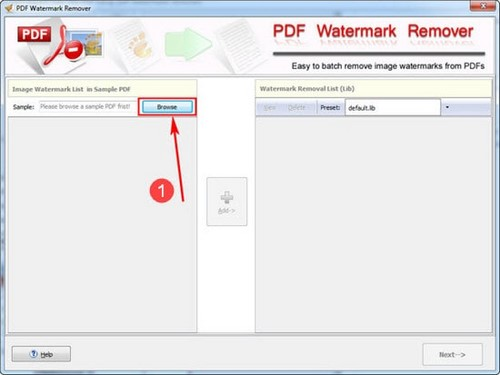 Xóa ảnh, logo bản quyền PDF bằng PDF Watermark Remover