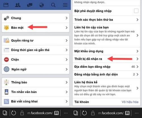 Đăng xuất Messenger, thoát Facebook Messenger trên iPhone, Android, Windows Phone 14