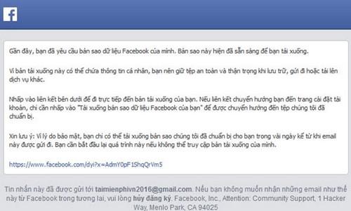 lay lai tin nhan Facebook