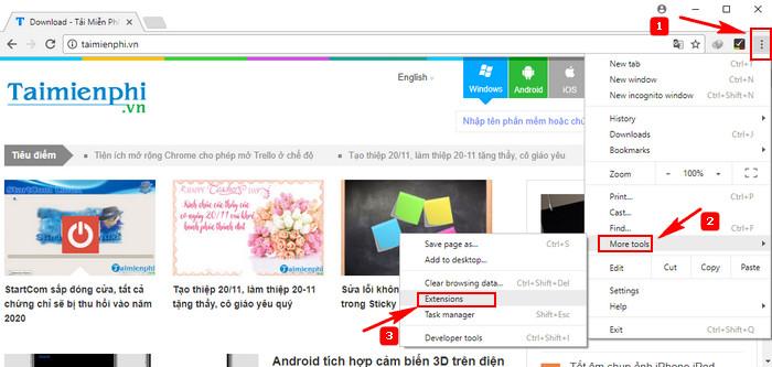 bat tat extension google chrome