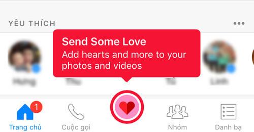 chup anh valentine tren facebook