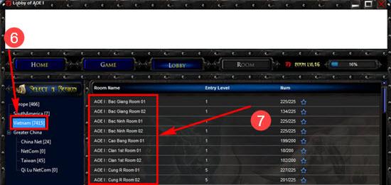 Cách chơi Đế Chế trên Garena, chơi AOE Online 7