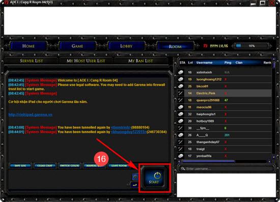 Cách chơi Đế Chế trên Garena, chơi AOE Online 13