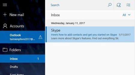 vo hieu hoa tinh nang xem truoc noi dung mail tren windows 10 1