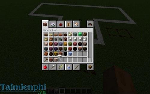 cach xay biet thu trong minecraft