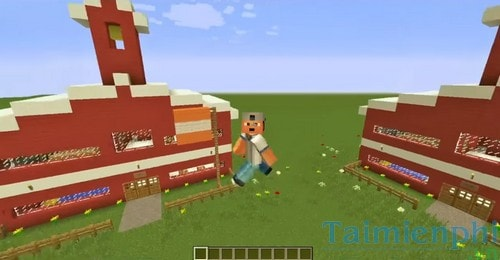 xay dung truong lop trong minecraft