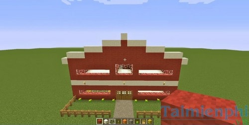 xay truong trong minecraft