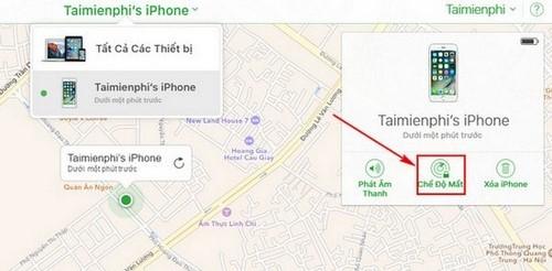 Cách khóa iPhone, iPad từ xa khi bị mất máy hoặc bị trộm 6