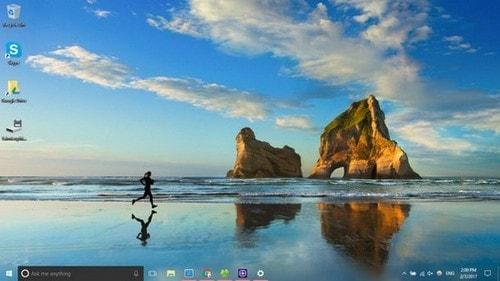 Cách làm trong suốt thanh Taskbar trên Windows 10 bằng TranslucentTB 3