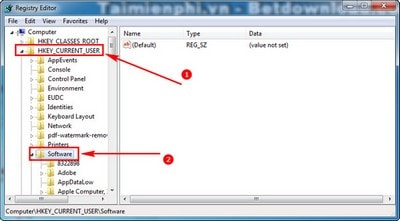 Xóa thông tin hỗ trợ cài đặt chương trình, phần mềm trong máy tính