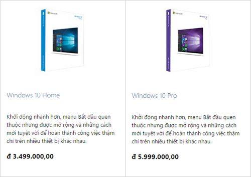 Windows 10 bản quyền giá bao nhiêu? 2