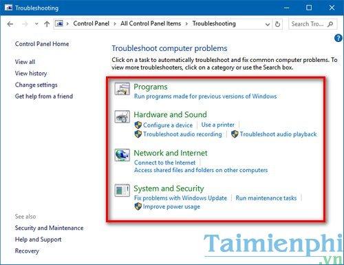 Cách tìm kiếm lỗi Windows 10 tự động 4