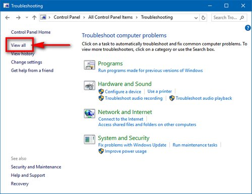 Cách tìm kiếm lỗi Windows 10 tự động 5