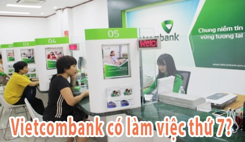 vietcombank co lam thu 7