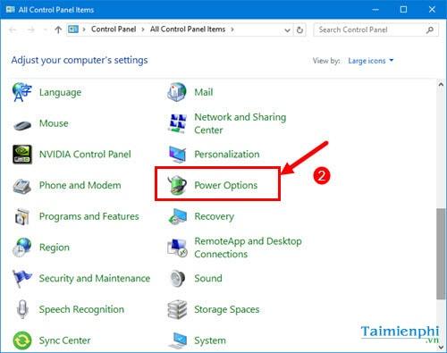 Các cách sửa lỗi màn hình đen Windows 10 13
