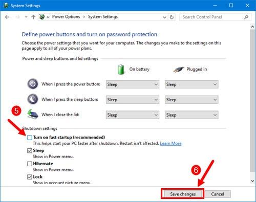 Các cách sửa lỗi màn hình đen Windows 10 16
