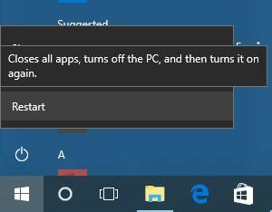 Các cách sửa lỗi màn hình đen Windows 10 3