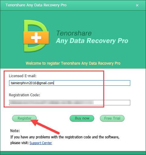 tenorshare any data recovery pro ban quyen
