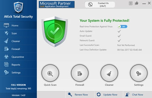 giveaway akick total security mien phi