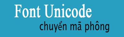 chuyen ma font sang unicode
