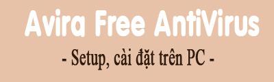 cai avira free antivirus tren may tinh