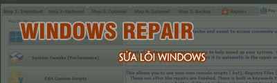sua loi windows bang windows repair