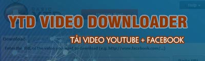 tai video youtube facebook bang ytd video downloader