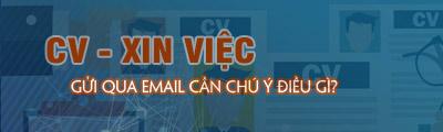 gui cv qua email can chu y gi