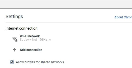 Direction to set up proxy server for chromebook 3