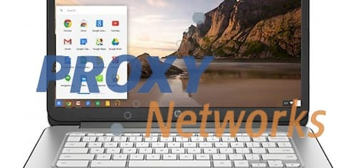 Direction of setting up proxy server for chromebook