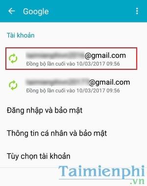 huong dan xoa tai khoan gmail tren samsung galaxy 5