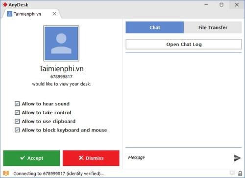remote may tinh bang anydesk thay cho teamviewer 4