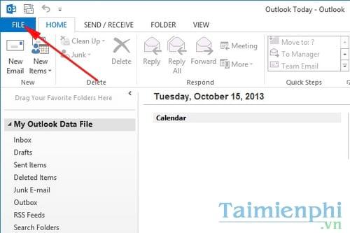Thêm cài đặt Gmail vào Outlook 2003, 2007, 2010 dễ dàng