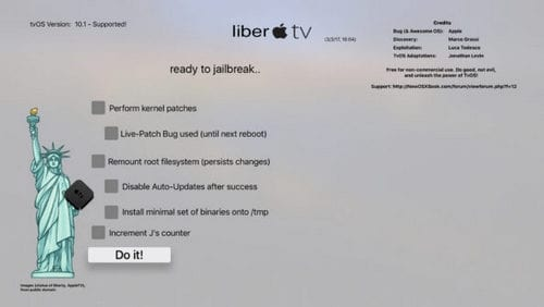 cach jailbreak apple tv 4 voi libertv thanh cong 5