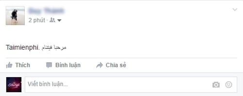 Đăng status nhiều ngôn ngữ trên Facebook, viết status Facebook đa ngôn ngữ