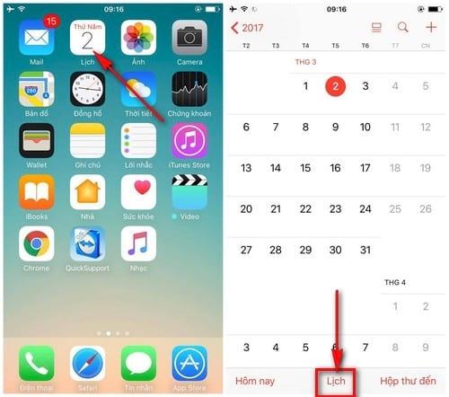 huong dan chan loi moi spam trong calendar icloud tren iphone ipad