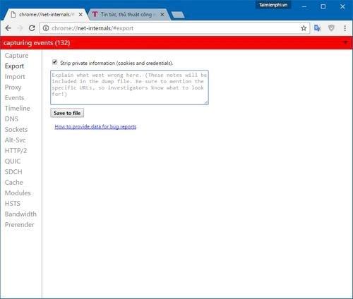 Những trang web ẩn trên trình duyệt Google Chrome