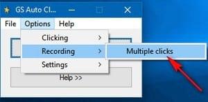 Cách sử dụng Auto Click, phần mềm tự động Click chuột chơi game 5