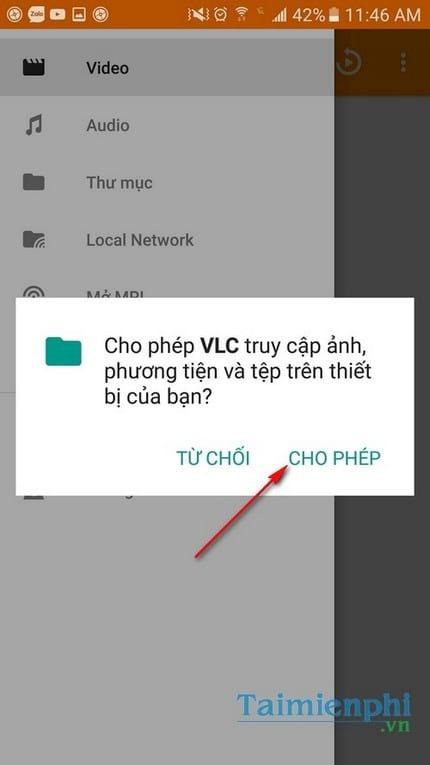 Xem video 360 độ trên điện thoại với VLC 2.1 cho Android