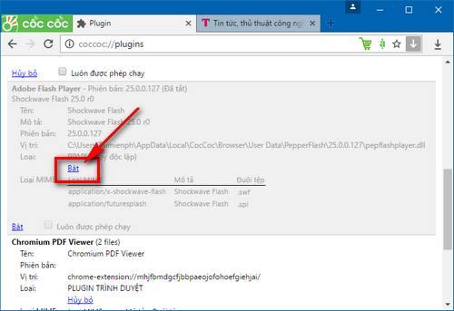 Cách khắc phục lỗi không xem được video do thiếu Flash Player