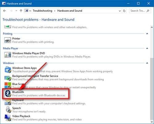 Khắc phục lỗi không tìm thấy kết nối Bluetooth trên máy tính, laptop 4