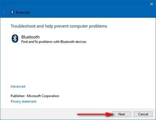Khắc phục lỗi không tìm thấy kết nối Bluetooth trên máy tính, laptop 5