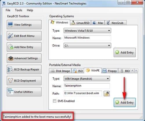 Cách cài Windows 7 trực tiếp trên ổ cứng HDD vẫn sử dụng