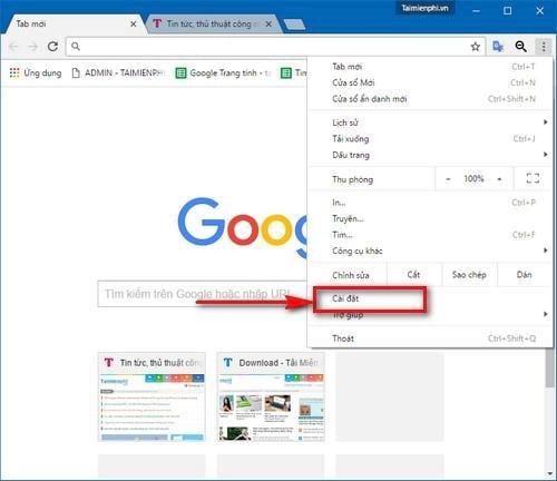 Chặn Google Chrome tự động thêm công cụ tìm kiếm tùy biến