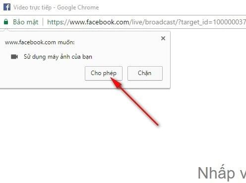 Cách phát live stream video facebook trên máy tính không cần cài thêm OBS