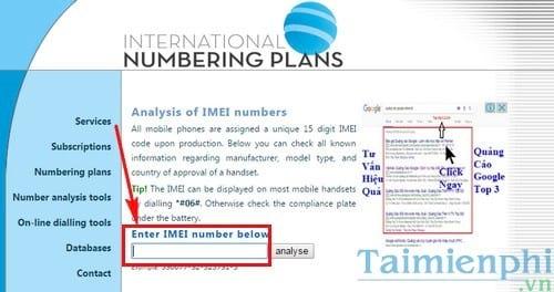 Cách kiểm tra IMEI, test IMEI điện thoại Sony Xperia cũ