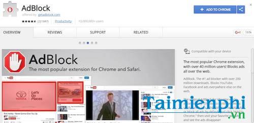 Adblock và Adblock Plus, Có gì khác? Nên dùng tiện ích nào?