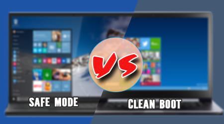 so sanh windows safe mode va clean boot