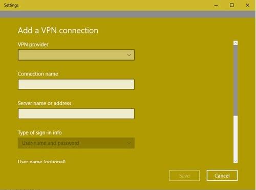 Cách thiết lập mạng cá nhân ảo, mạng riêng ảo VPN